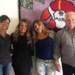 Erica Sousa - Gestora do Circuito turístico Veredas do Paraopeba visita a instituição Projeto Fred